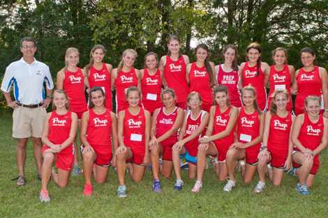2012 Girls CC Team